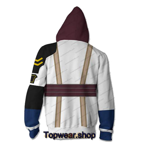 Final Fantasy Dissidia Hoodies - Zip Up Lightning Hoodie