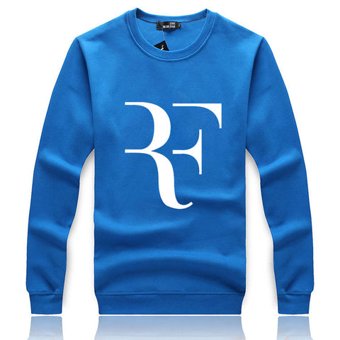 Men's Sweatshirts - Men's Sweatshirt Series RF White Icon Fleece Sweatshirt