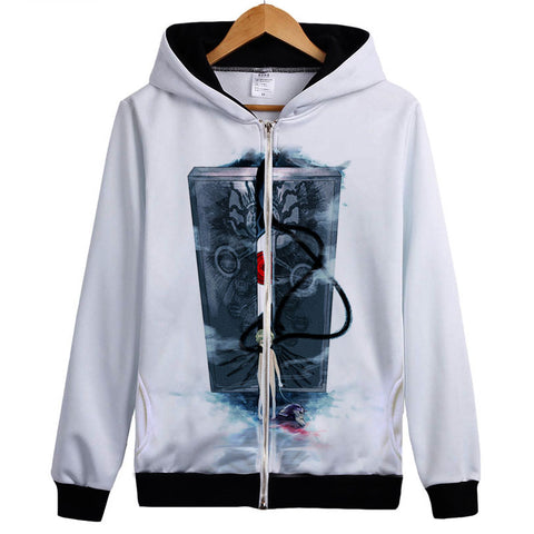 Fullmetal Alchemist Hoodies - Zip Up Cosplay Anime Hoodie