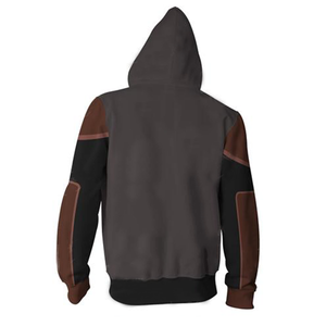 Avatar: The Last Airbender Amon Hoodies - Zip Up Hoodie