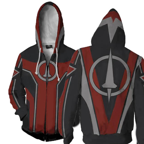 Image of Borderlands Crimson Lance Hoodies - Zip Up Borderlands Hoodie