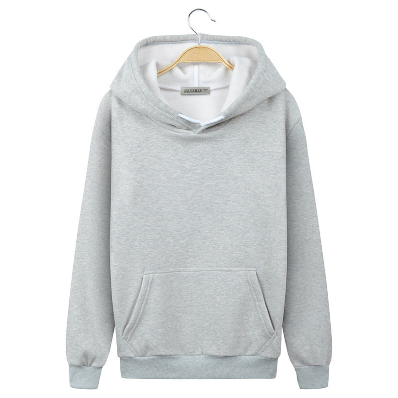 Harajuku Style Hoodies - Solid Color Harajuku Style Series Fashion Fleece Hoodie