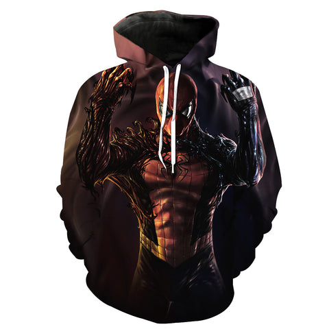 Image of Spiderman Hoodies - Venom Spiderman Series Cool 3D Hoodie