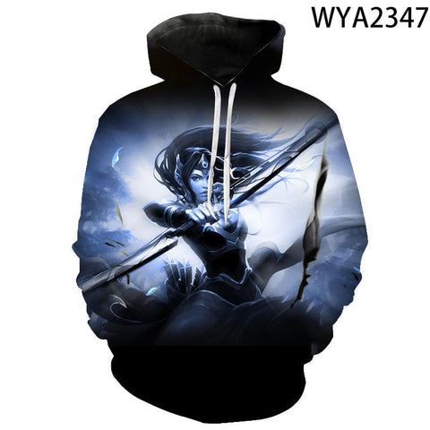 Image of 3D Print Dota 2 Pullovers Hoodies Sweatshirt