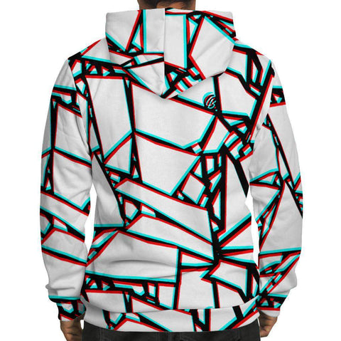 Image of 3D Fractures Hoodie
