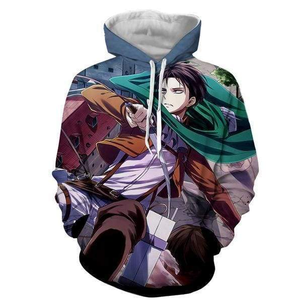 Attack On Titan Hoodies - Levi Ackerman Hoodie