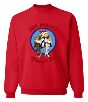 Men's Sweatshirts - Men's Sweatshirt Series Los Pollos Icon Fleece Sweatshirt