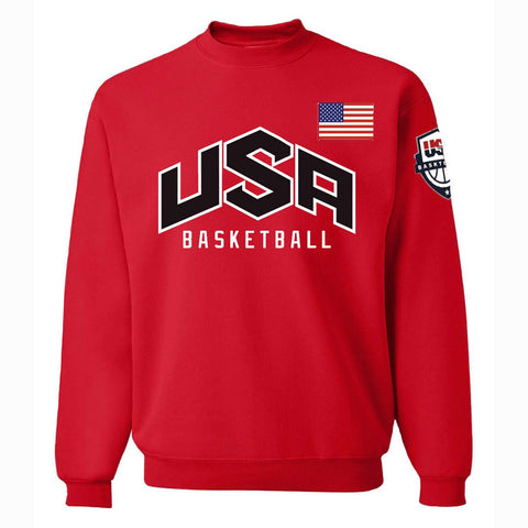Image of Men's Sweatshirts - Men's Sweatshirt Series USA Icon Fashion Fleece Sweatshirt