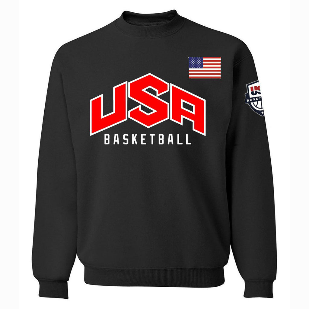 Men's Sweatshirts - Men's Sweatshirt Series USA Icon Fashion Fleece Sweatshirt
