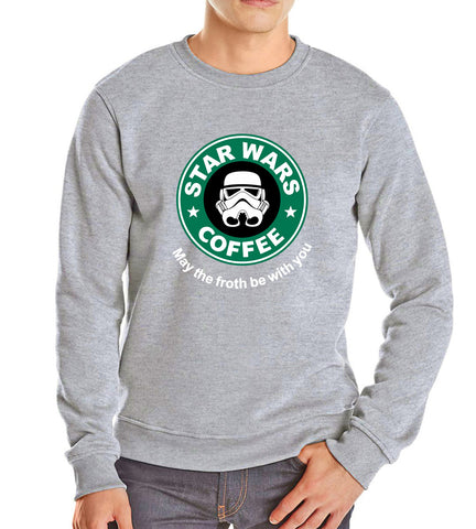 Image of Men's Sweatshirts - Men's Sweatshirt Series Star Wars Icon Fleece Sweatshirt