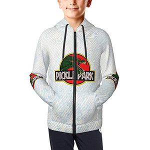 Monster Hunter Jacket - Teen Full Zipper Hooded Jacket