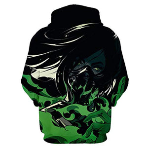Game Valorant Hoodies - Viper 3D Unisex Hooded Pullover Sweatshirt