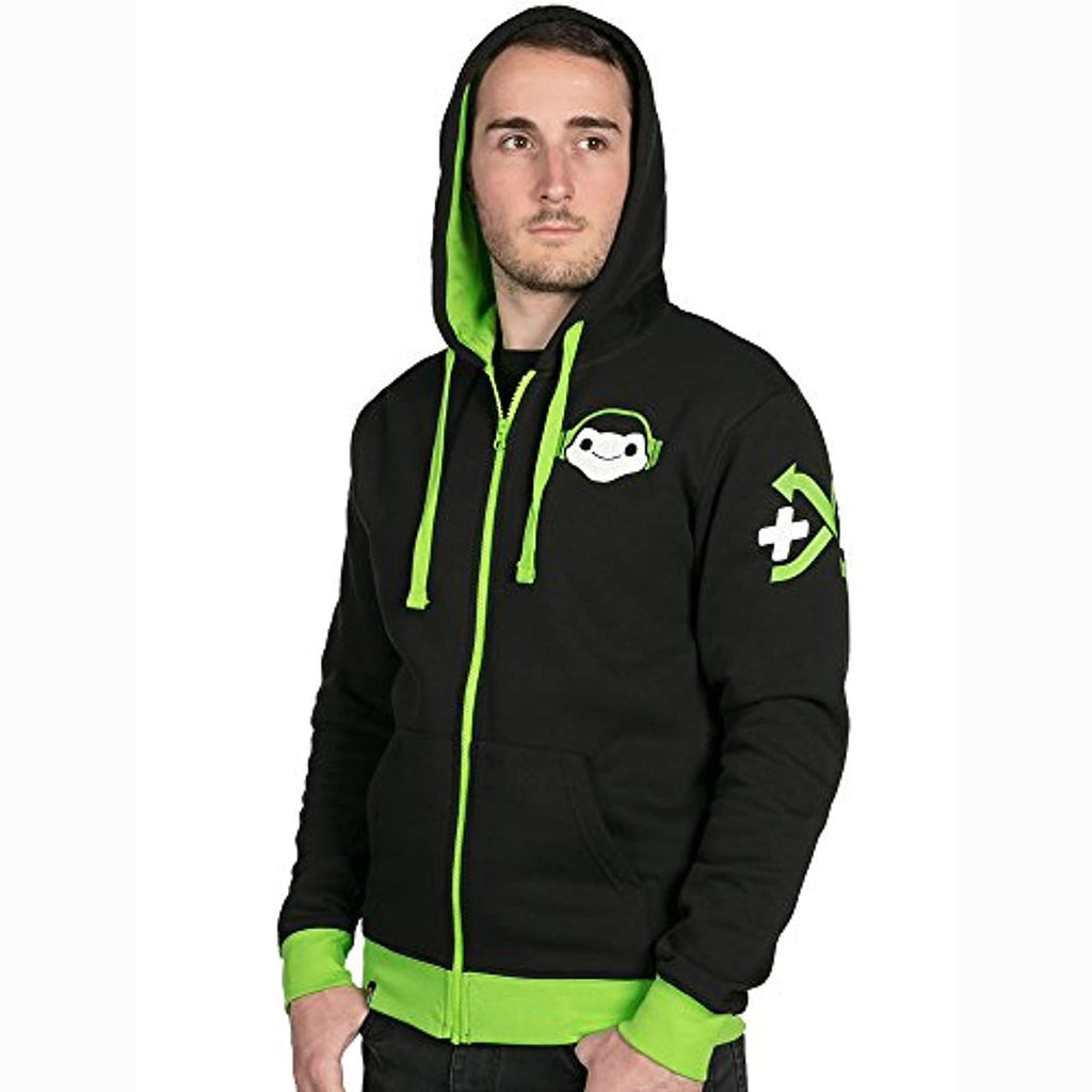 Overwatch Hoodie - Overwatch Ultimate Lucio Zip-Up Green Hoodie