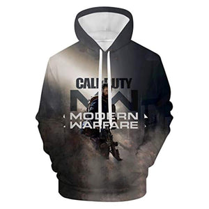 3D Printed Call of Duty Hoodie Pullover Sweatshirt