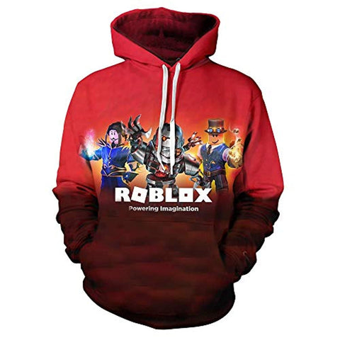 Image of Unisex 3D Print Hooded Pullover Sweatshirts Hoodies