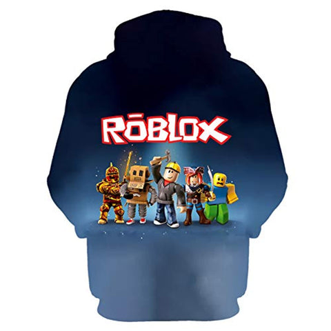 Image of Roblox Hooded Sweatshirts Pullover Hoodie