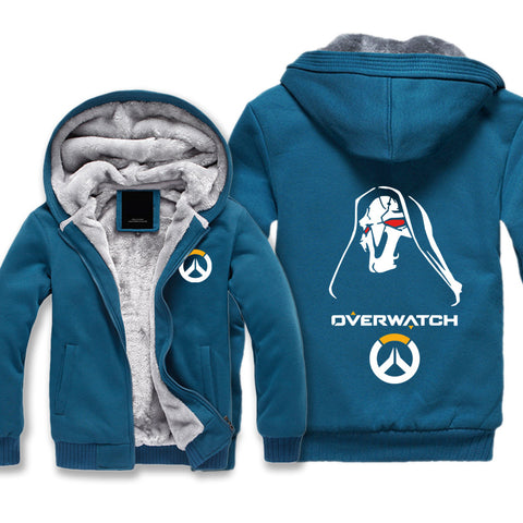 Overwatch Reaper Jackets - Zip Up Black Super Cool Jacket