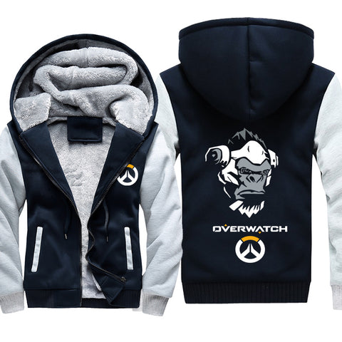 Image of Overwatch Death Winston Jackets - Black Super Cool Jacket