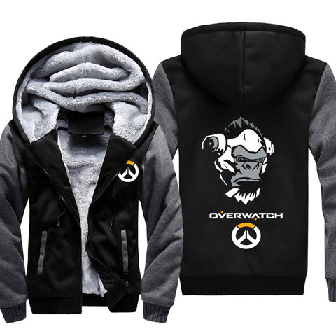 Overwatch Death Winston Jackets - Black Super Cool Jacket