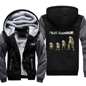 NieR: Automata Jackets - Solid Color NieR: Automata Yoel ha Evolution Super Cool Jacket