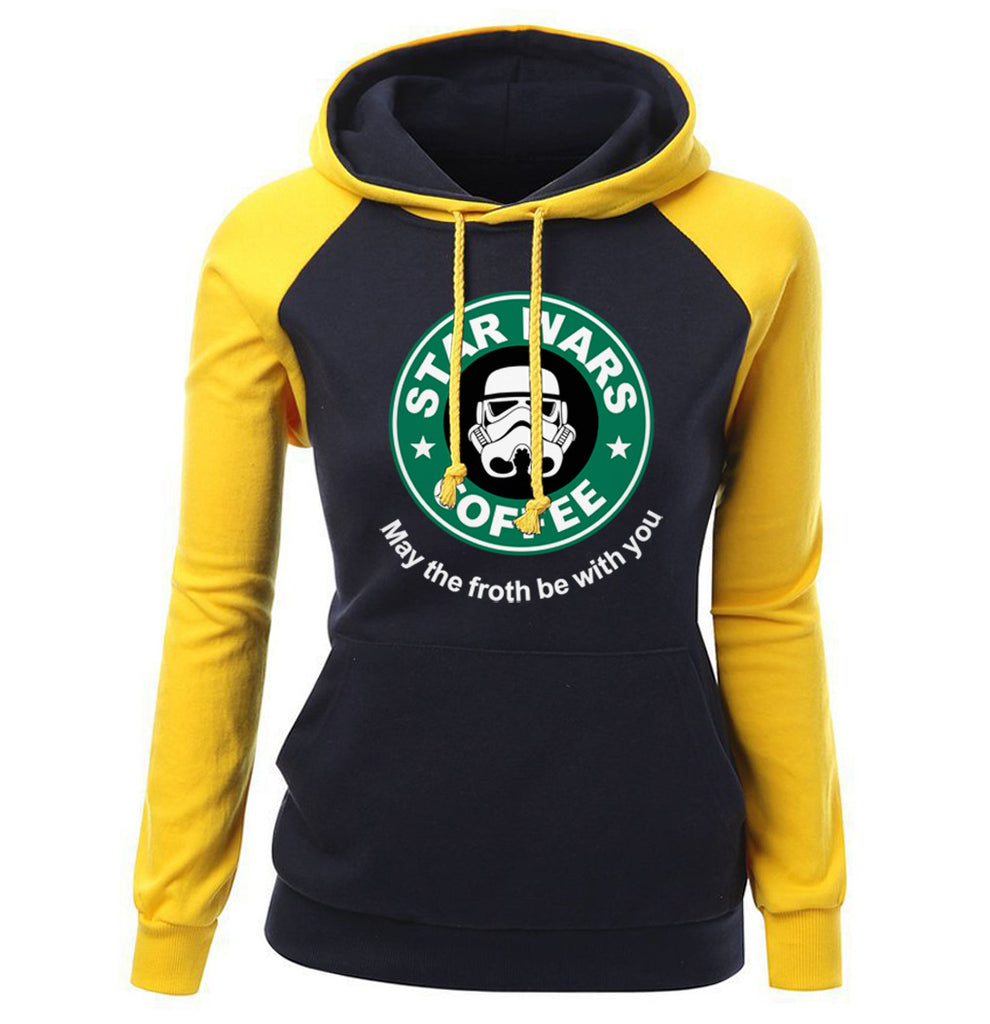 Star Wars Hoodies - Star Wars Hoodie Series  Star Wars Women Super Cool Fleece Hoodie