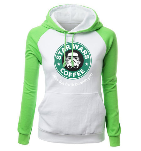 Image of Star Wars Hoodies - Star Wars Hoodie Series  Star Wars Women Super Cool Fleece Hoodie