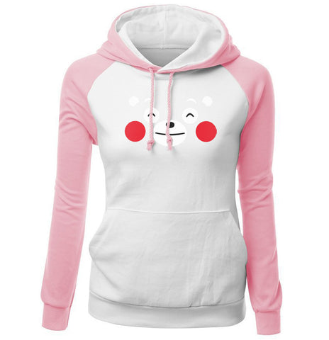 Image of Women Hoodies - Women Hoodie Series Pet Bear Super Cute Fleece Hoodie