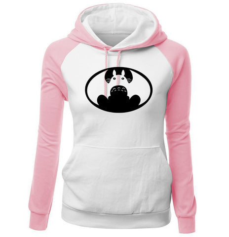 Image of Totoro Hoodies - Women Hoodie Series Totoro Super Cute Fleece Hoodie