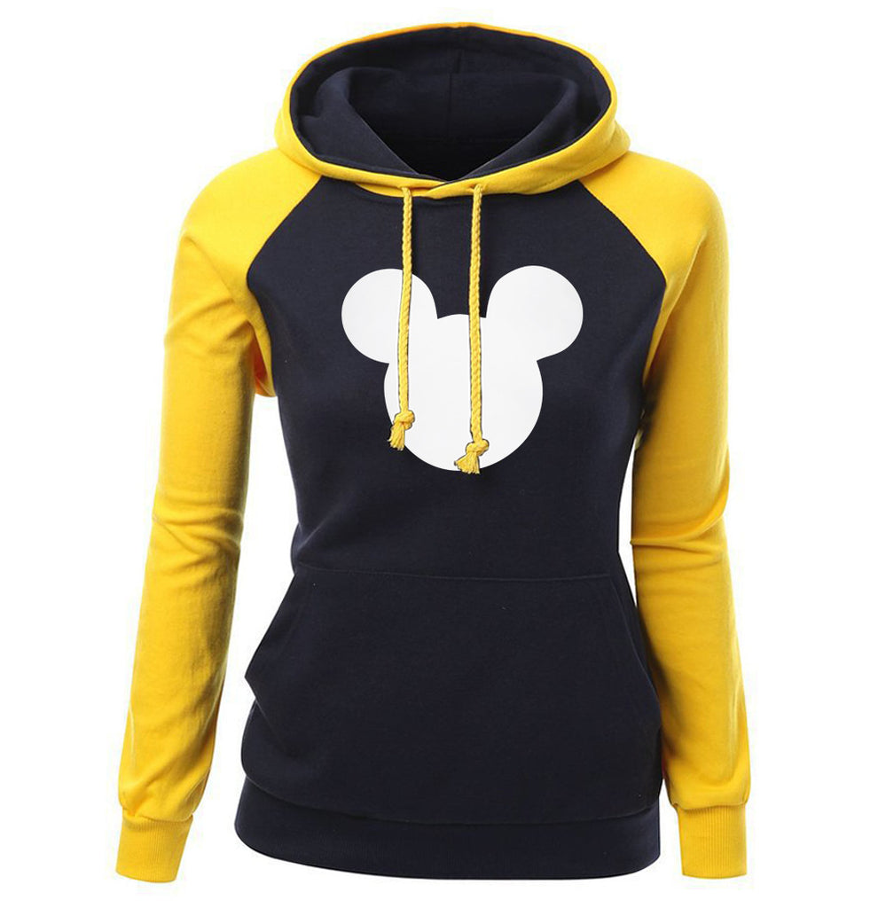 Mickey Mouse Hoodies - Mickey Mouse Hoodie Series Mickey Mouse Women Super Cute Fleece Hoodie