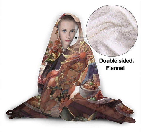 The Legend of Zelda Hooded Blanket