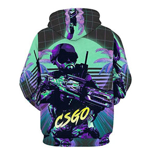 CSGO Hoodie - Counter-strike 3D Print Hooded Sweatshirt