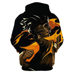 Game Valorant Hoodies - Phoenix 3D Unisex Hooded Pullover Sweatshirt