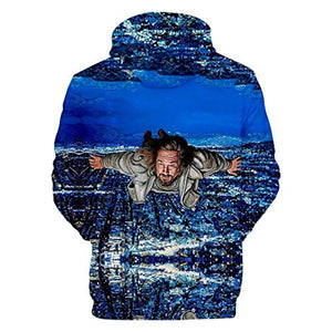 The Big Lebowski Hoodies - The Dude Unisex Hooded Jacket Coat Pullover