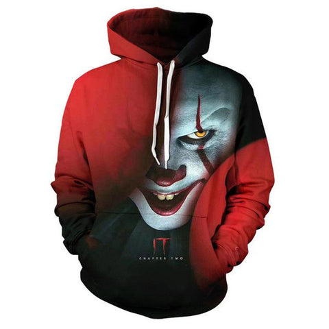 Suicide Squad Joker Hoodies - 3D Printed Sweatshirt Hooded Pullover
