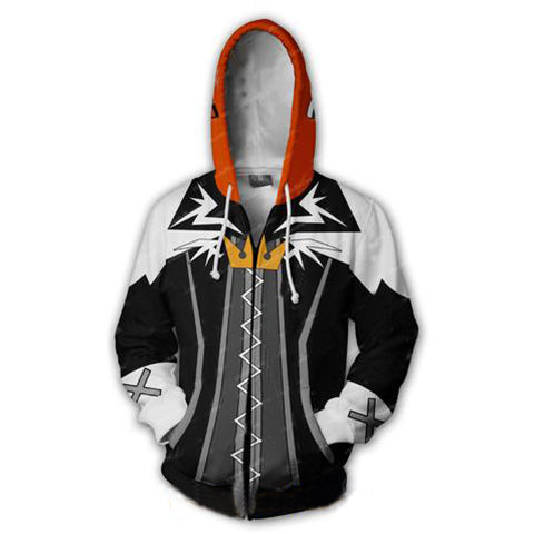 Kingdom Hearts Sora Hoodies - Zip Up Halloween Town Hoodie