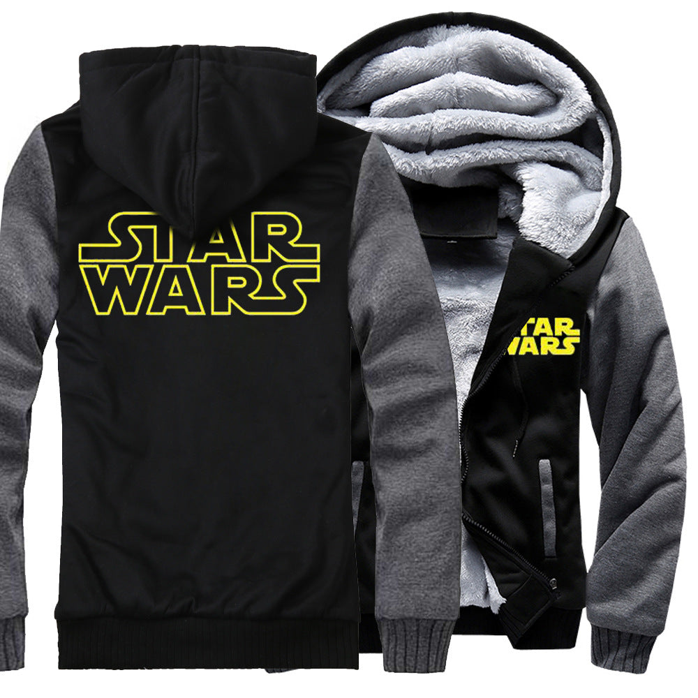 Star Wars Jackets - Solid Color Star Wars Series Star Wars Movie Icon Super Cool Fleece Jacket