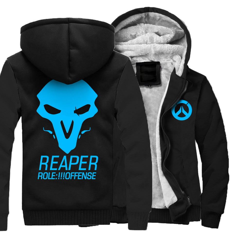REAPER Jackets - Solid Color REAPER Series REAPER Icon Luminous Super Cool Fleece Jacket
