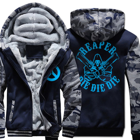 Image of REAPER Jackets - Solid Color REAPER Luminous Super Cool Fleece Jacket