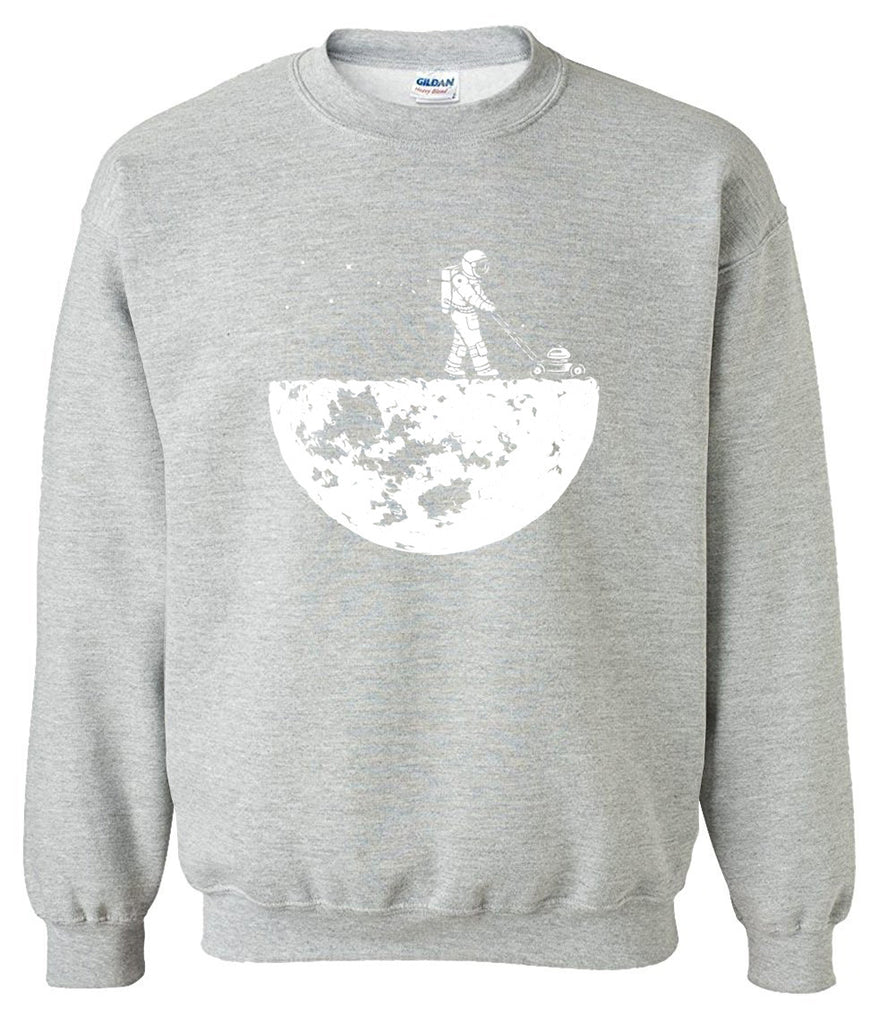 Men's Sweatshirts - Men's Sweatshirt Series Astronaut Icon Fleece Sweatshirt