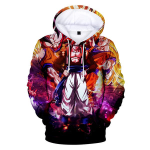 Dragon Ball Z Hoodies - Dragon Ball Anime Series GOKU Super Saiyan Hoodie