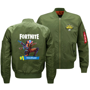 Fortnite Jackets - Solid Color Fortnite Game Fruit Juice Drink Icon Fleece Jacket