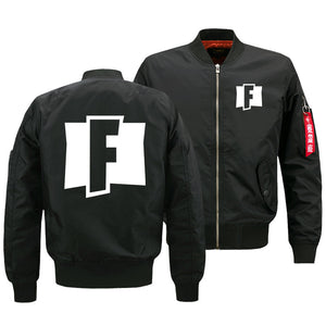 Fortnite Jackets - Solid Color Fortnite Game Victory Royale Logo Icon Fleece Jacket