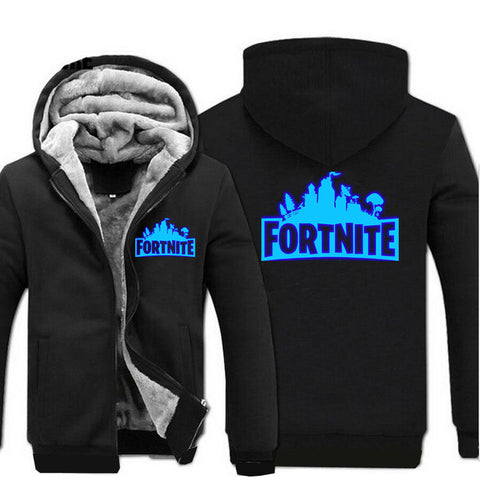 Image of Fortnite Jackets - Solid Color Fortnite Game Series Fortnite Luminous Fleece Jacket