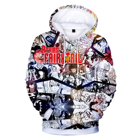 Fairy Tail Hoodies - Fairy Tail Anime Series Anime Character Hoodie