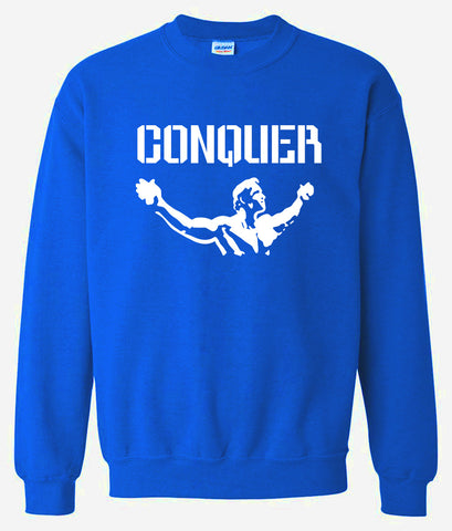Men's Sweatshirts - Men's Sweatshirt Series Conquer Icon Fleece Sweatshirt