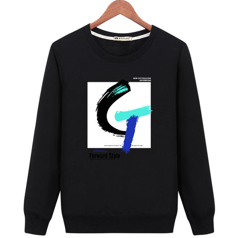 Image of Harajuku Style Sweatshirts - Solid Color Harajuku Style Series Fashion Fleece Sweatshirt