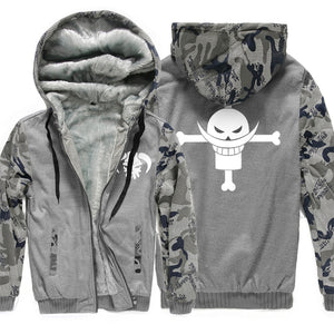 One Piece Jackets - One Piece Anime Series Super Cool Fleece Jacket
