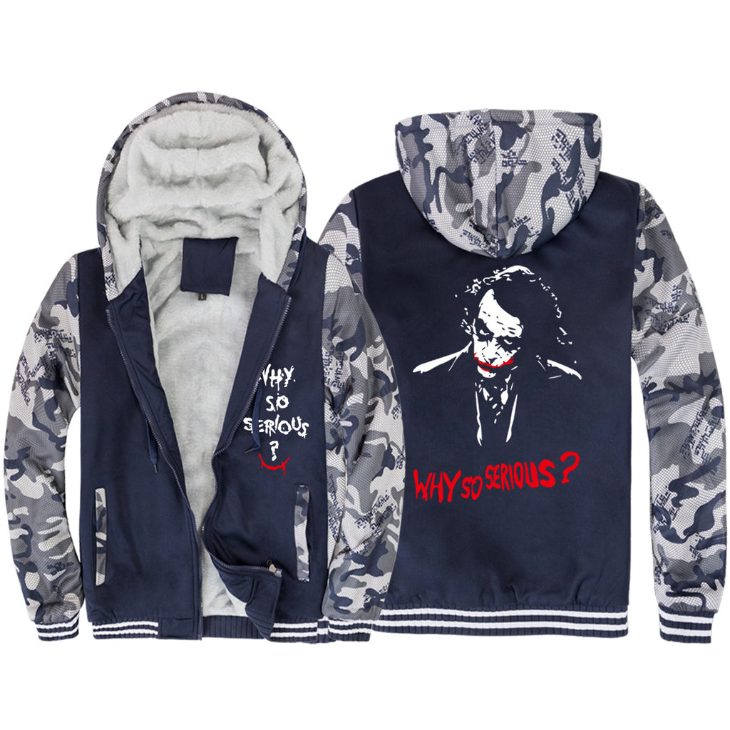 Suicide Squad Jackets -Suicide Squad Movie Series Clown Icon Super Cool Fleece Jacket