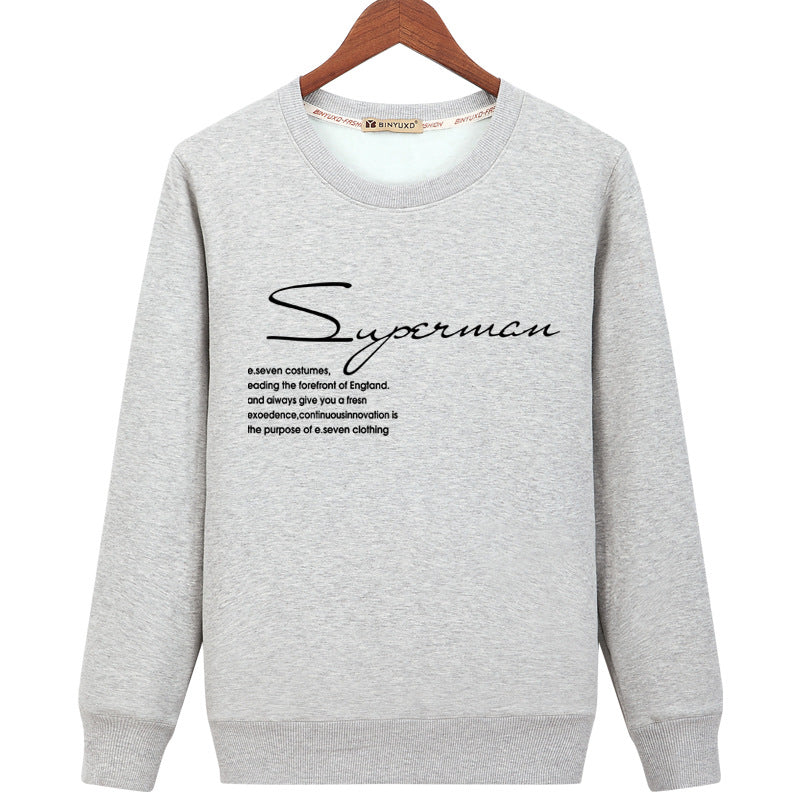 Harajuku Style Sweatshirts - Solid Color Harajuku Style Icon Fashion Fleece Sweatshirt