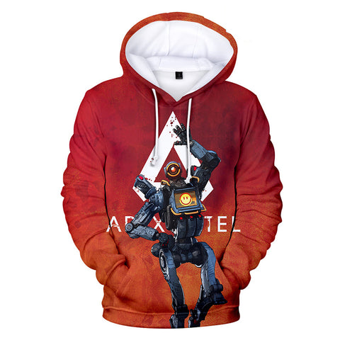 Apex Legends Hoodies - Apex Legends Game Series Pathfinder Character 3D Hoodie